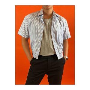 e30b331a Balenciaga Shirts | Vintage Plaid Shirt Grey Button Down | Poshmark